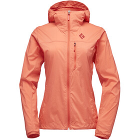 Black Diamond Alpine Start Hoody Jacket Dame papaya